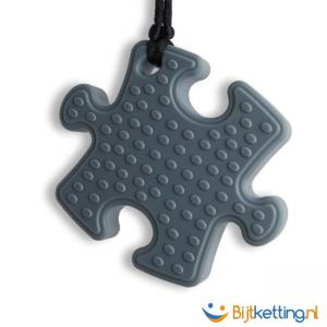 2242 bijtketting puzzle grijs