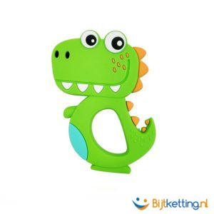 2428 bijtketting kauwketting dinosaurus cartoon groen